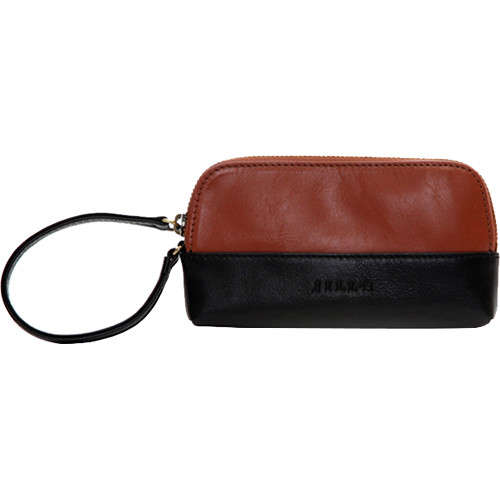 Jill-E Designs Osceola Smartphone Clutch (Saddle/Black)