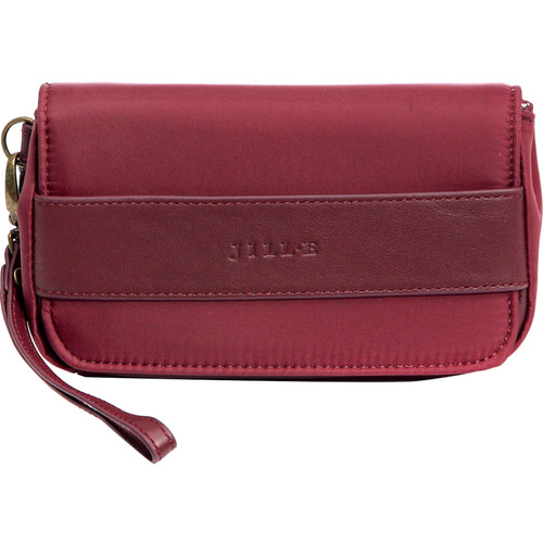 Jill-E Designs Regan Smartphone Wristlet (Berry)