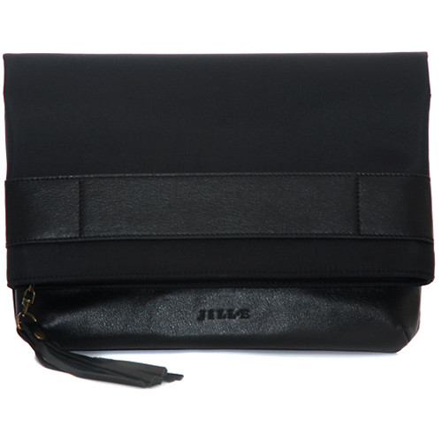"Jill-E Designs Jillian 13"" Laptop Clutch (Black)"