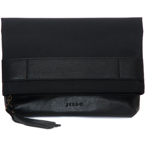 "Jill-E Designs Jillian 13"" Laptop Clutch (Black)"