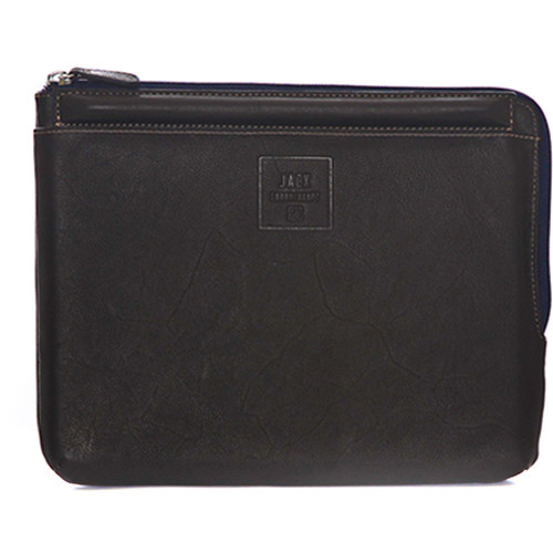 """Jill-E Designs Dominick Leather Sleeve with Stand for 10"""" Tablet (Brown)"""