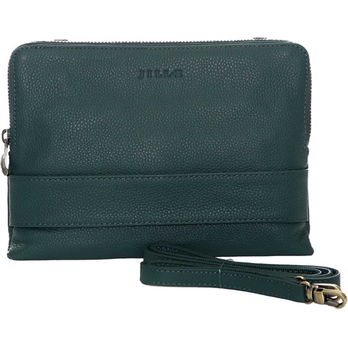 "Jill-E Designs Ivy Leather Clutch for 7"" Tablet (Teal)"