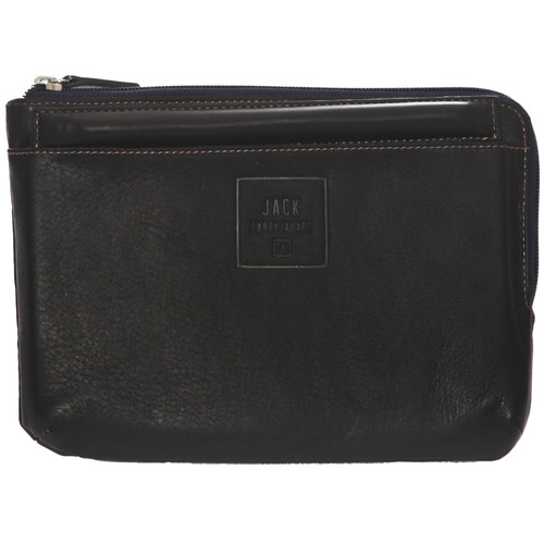 """Jill-E Designs Beck Leather Sleeve with Stand for 7"""" Tablet (Brown)"""