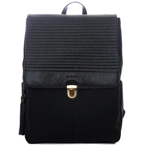 "Jill-E Designs Lucy 15"" Laptop Backpack (Black)"