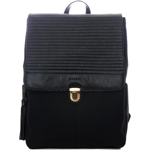 "Jill-E Designs Lucy 13"" Laptop Backpack (Black)"