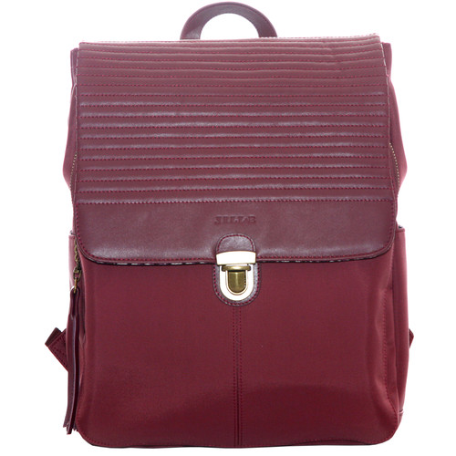 "Jill-E Designs Lucy 13"" Laptop Backpack (Berry)"