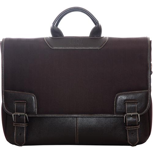 "Jill-E Designs Daniel Messenger Bag for 15"" Laptop (Brown)"