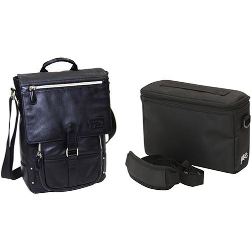 Jill-E Designs Emma Leather Bag / E-Go Camera Insert (B&H Kit)