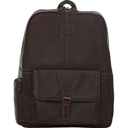 "Jill-E Designs JACK Hemingway 15"" Laptop Leather Backpack & Camera Insert (B&H Kit)"