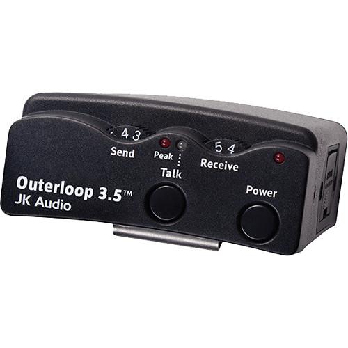 JK Audio Outerloop 3.5 Universal Intercom Belt Pack (XLR Female)