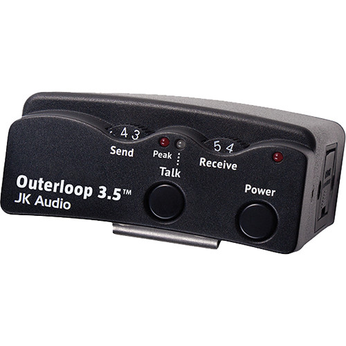 JK Audio Outerloop 3.5 Universal Intercom Belt Pack (XLR Male)