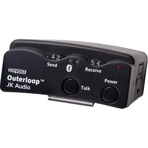 JK Audio 4-Pin/5-Pin Male XLR Outerloop Wireless Intercom Belt Pack