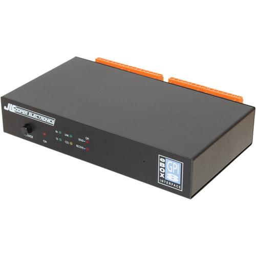 JLCooper eBOX GPI8 Ethernet to GPI Interface