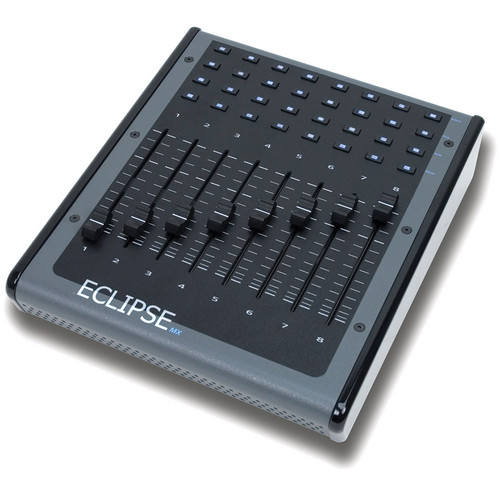 JLCooper Eclipse MX-SA Midnight Stand Alone 8-Channel Fader Expander / Controller (Black)