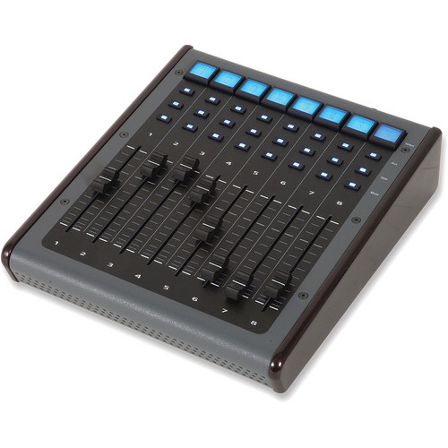 JLCooper Eclipse MXL Midnight 8-Channel Fader Expander with LCD Buttons (Black)