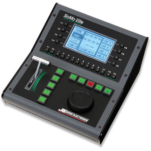 JLCooper SM-O66SN SloMo Elite Video Server Controller with JLCooper Tall Optical Jog Only Mechanism