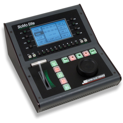 JLCooper SM-OLLSN SloMo Elite Video Server Controller with JLCooper Tall Optical Jog Only Mechanism