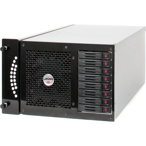 JMR Electronics Lightning XQ PCIe to Thunderbolt 2 Rackmount 8-Bay RAID Enclosure