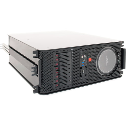 JMR Electronics Mac Pro PCIe to Thunderbolt 2 Eight-Bay RAID Enclosure with Rackmount Kit