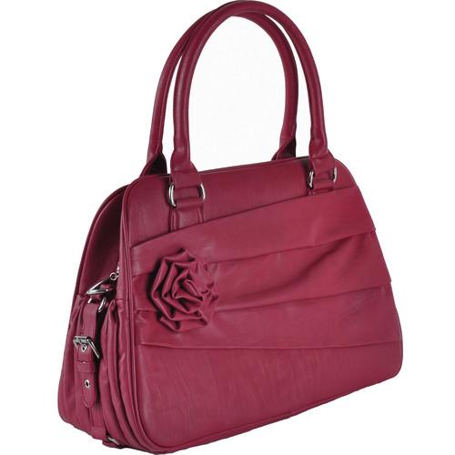 Jo Totes Rose Camera Bag (Raspberry)