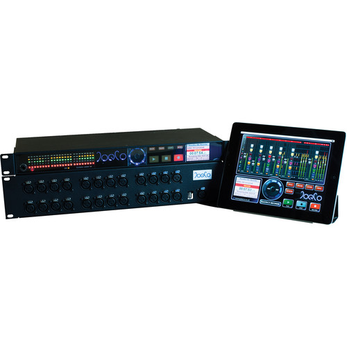 JoeCo BlackBox BBR1MP-BUNDLE1 Live Multi-Channel Audio Recorder Bundle with MADI, DANTE Card, Breakout Option & JoeCoRemote Interface