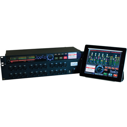 JoeCo BlackBox BBR1MP Bundle 2 - BBR1MP Audio Recorder with MADI and Dante Cards, Breakout Box, JoeCoRemote, and iXML License