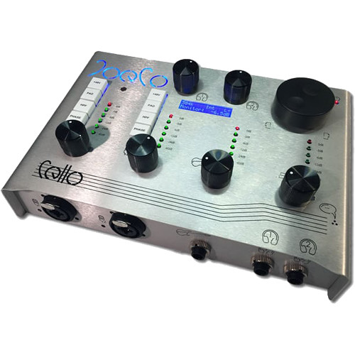 JoeCo Cello 384 kHz USB 2.0 Audio Interface with 22 Inputs and 4 Outputs
