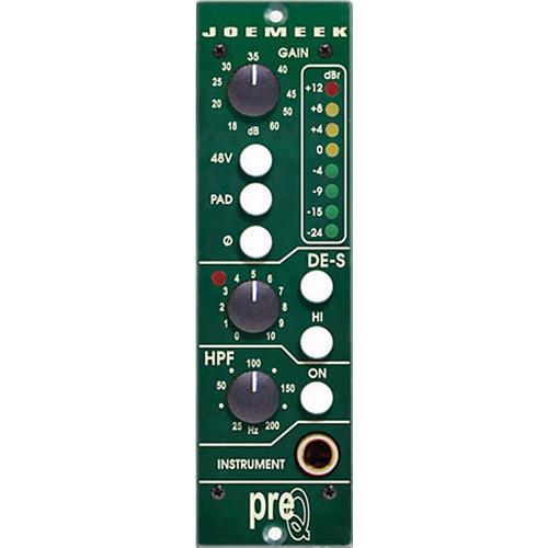 Joemeek preQ 500 500-Series Preamplifier Module