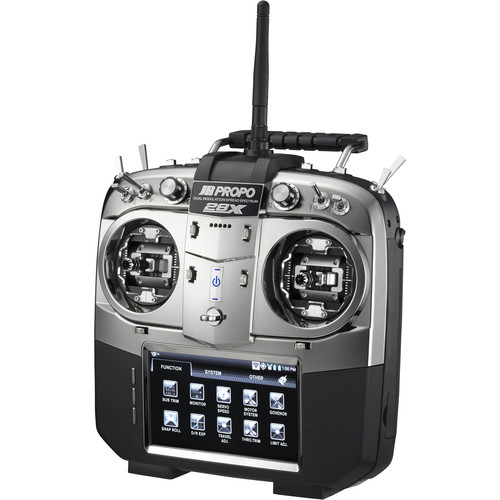 JR AMERICAS 28X DMSS 2.4 GHz 28-Channel Transmitter with RG712BX XBus Receiver