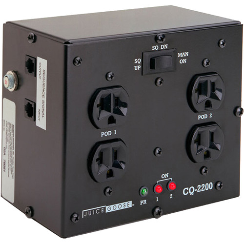 Juice Goose Dual-Sequence 20A Power Distribution System with Remote Control Capability