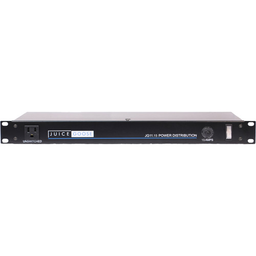 "Juice Goose JG11-15A Power Distribution Center for 19"" Rack Systems"
