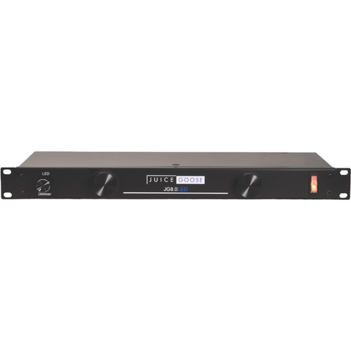 """Juice Goose JG 8LED Power Distribution Center with LEDs for 19"""" Rack Systems"""