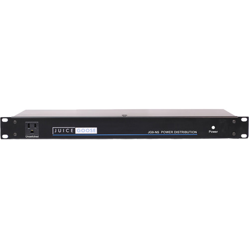 "Juice Goose JG9NS Power Distribution Center for 19"" Rack Systems"