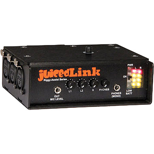 juicedLink RA333 Riggy Assist Low-Noise Preamp