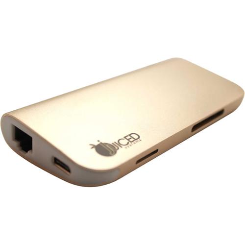 Juiced Systems Juiced Bizhub - USB-C Multiport Gigabit HDMI Adapter (Gold)