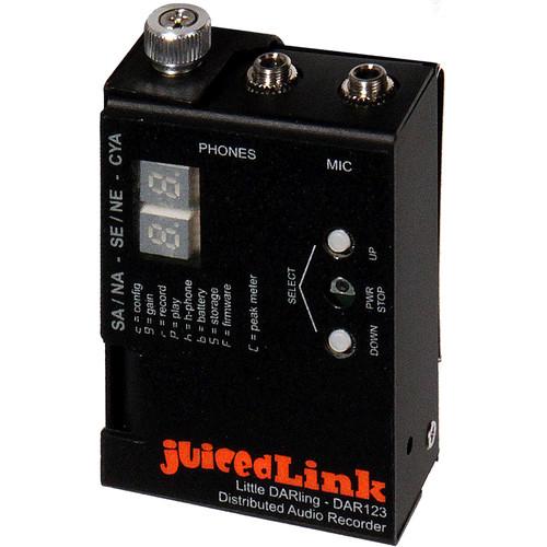 juicedLink juicedLink Little Darling Distributed Audio Recorder and Senal OLM-2 Lavalier Microphone Kit