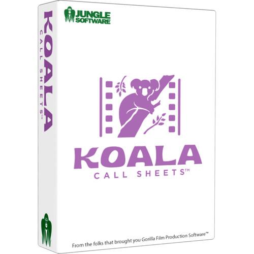 Jungle Software Koala Call Sheets (Download)