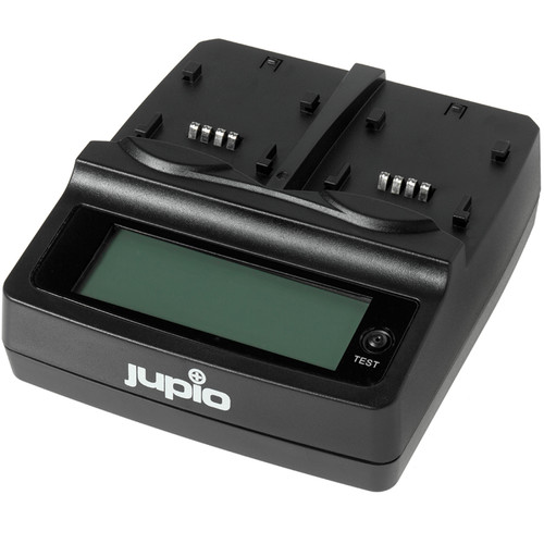 Jupio Duo Charger for Camera/Camcorder Batteries & USB Devices