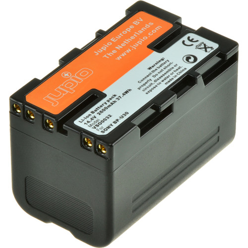 Jupio Digital Camcorder Replacement Battery for Sony BP-U30