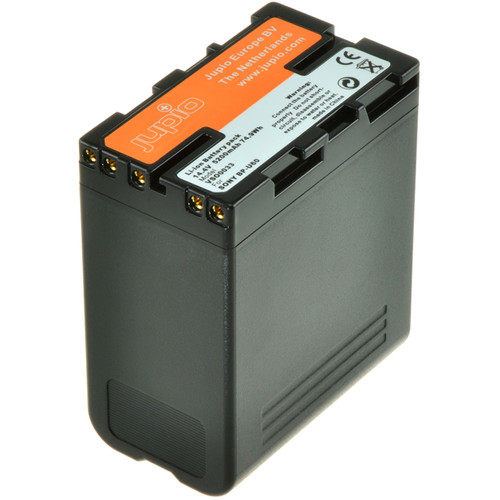 Jupio Digital Camcorder Replacement Battery for Sony BP-U60