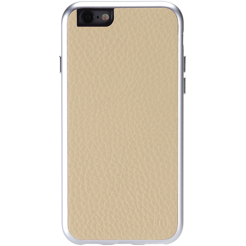 Just Mobile AluFrame Leather Case for iPhone 6/6s (Beige)