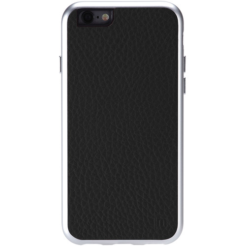 Just Mobile AluFrame Leather Case for iPhone 6/6s (Black)