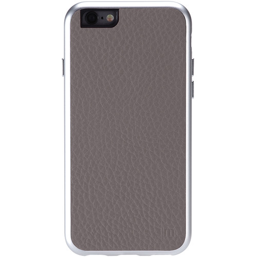 Just Mobile AluFrame Leather Case for iPhone 6/6s (Grey)