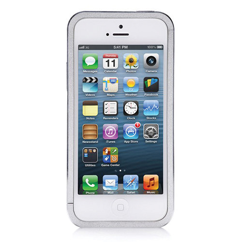 Just Mobile AluFrame Case for iPhone 5/5s/SE (Silver)