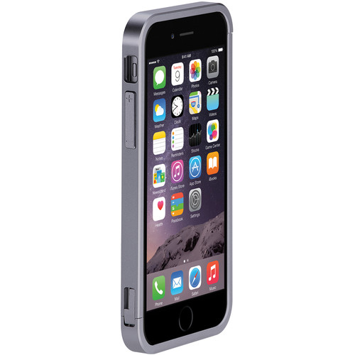 Just Mobile AluFrame Case for iPhone 6/6s (Gray)