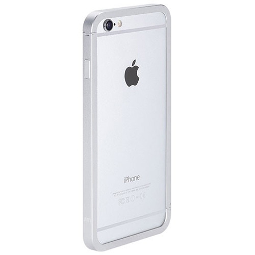 Just Mobile AluFrame Case for iPhone 6 Plus/6s Plus (Silver)