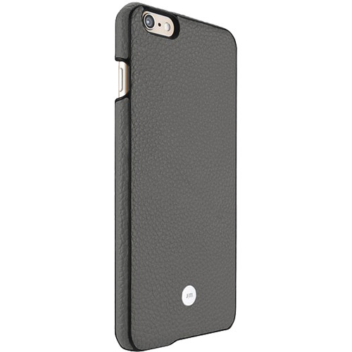 Just Mobile Gray Quattro Back Case with Black Screen Protector Kit for iPhone 6/6s