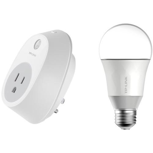 TP-Link HS100 Smart Plug and LB100 Smart LED Bulb Kit