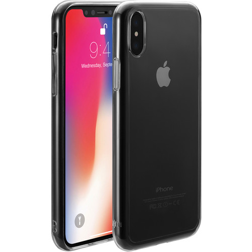 Just Mobile TENC Case for iPhone X/Xs (Crystal Clear)