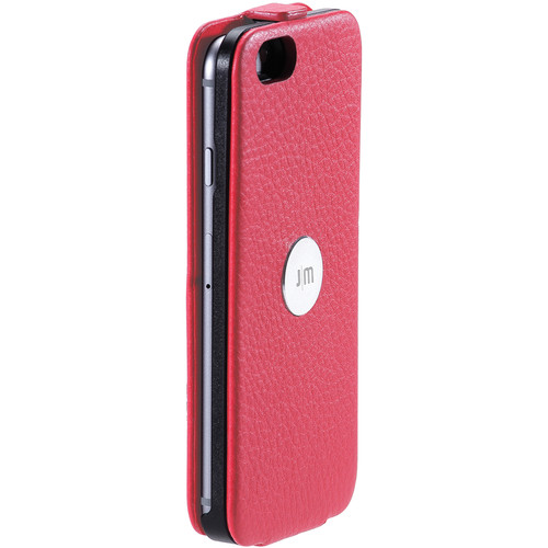 Just Mobile Pink SpinCase with White Screen Protector Kit for iPhone 6/6s